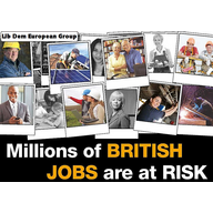 Millions of jobs outside of the EU (Liberal Democrats, UK)