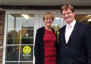 Lynne Beaumont and Danny Alexander