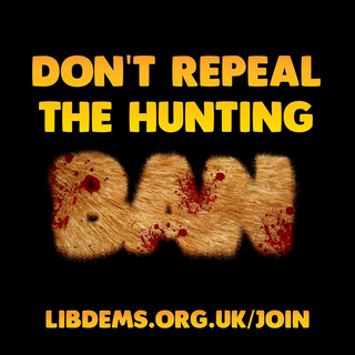 Don't repeal the hunting ban