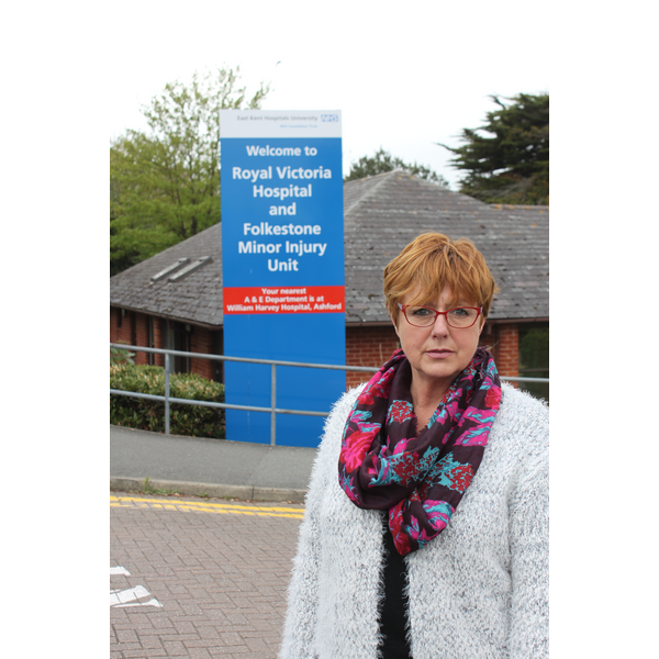 Lynne Beaumont at Royal Victoria Hospital