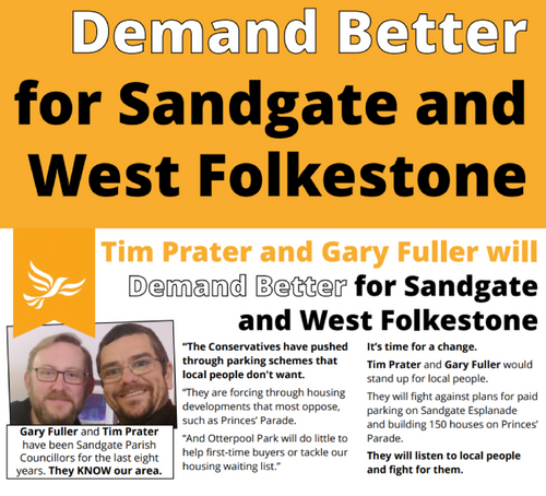 Demand Better for Sandgate and West Folkestone